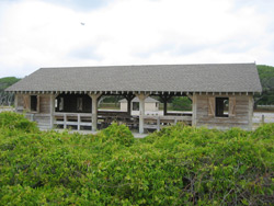 a group picnic shelter