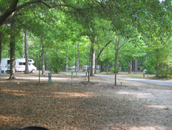 the main campground